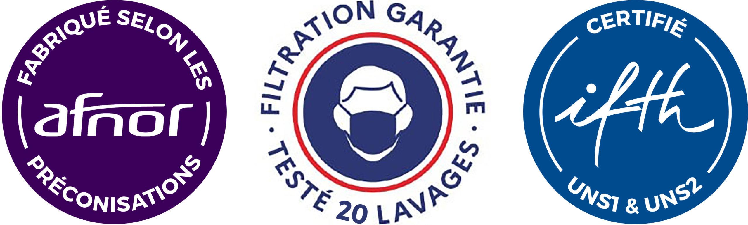 Logo des normes AFNOR, (AFNOR S76-001)