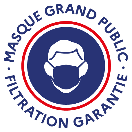 Logo masque grand public officiel