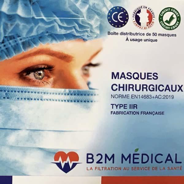Boites de Masques IIR B2M France