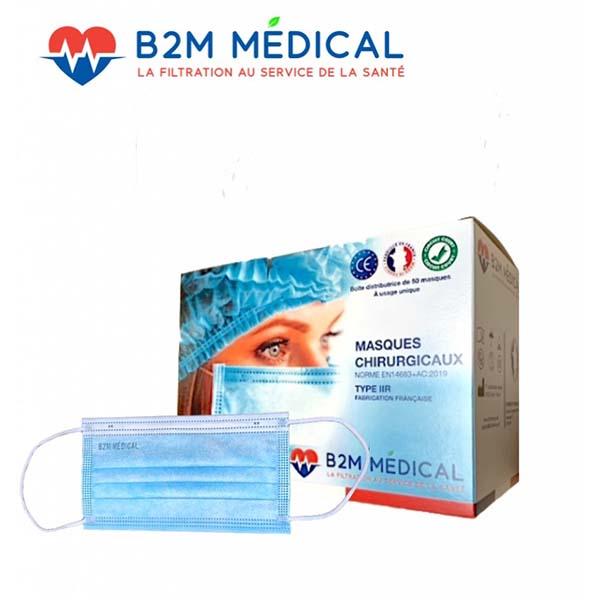 Masque chirurgical IIR B2M France