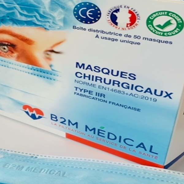 Masques IIR B2M France